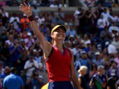 Emma Raducanu beat Belinda Bencic to reach the semi-finals (Elise Amendola/AP)