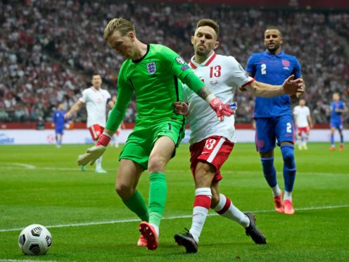 Pickford and England will have to wait for their clean sheet record (AP Photo/Czarek Sokolowski)