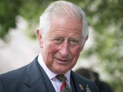 The Prince of Wales has called for a food 'use-up' day to be introduced by families (Jane Barlow/PA)