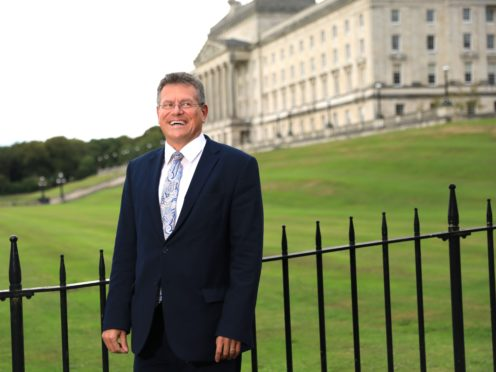 Maros Sefcovic has said both sides will need to compromise over the Northern Ireland Protocol (Peter Morrison/PA)