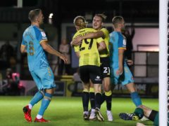 Harrogate twice battled back from behind to draw against Newport (Isaac Parkin/PA)