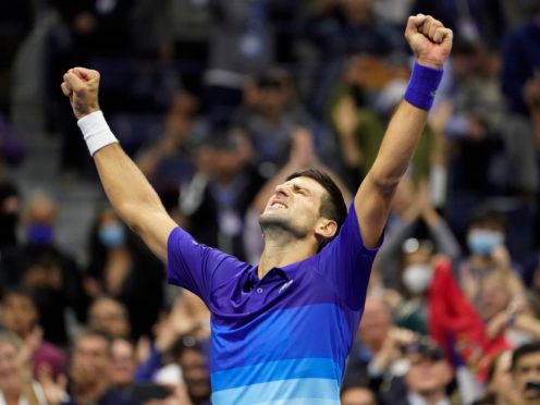 Novak Djokovic battled through to the final (John Minchillo/AP)