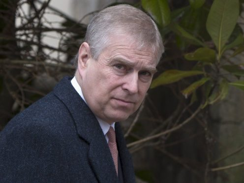 The Duke of York denies the claims against him (Neil Hall/PA)
