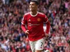 Cristiano Ronaldo returned to Manchester United late last month (Martin Rickett/PA)