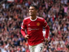 Manchester United boss Ole Gunnar Solskjaer is backing Cristiano Ronaldo to play on into his 40s (Martin Rickett/PA)