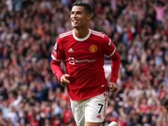 The return of Cristiano Ronaldo headlined the weekend's action (Martin Rickett/PA)