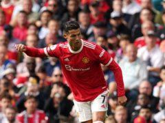 Cristiano Ronaldo enjoyed a memorable return to Manchester United (Martin Rickett/PA)