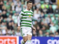 Callum McGregor will remain sidelined for the clash with Raith Rovers. (Jeff Holmes/PA)
