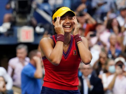 Emma Raducanu achieved the 'impossible' by winning the US Open (Elise Amendola/AP)