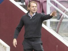 Robbie Neilson hailed his summer recruits after the win over Livingston (Jeff Holmes/PA)