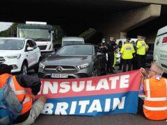 Insulate Britain protests (Insulate Britain/PA)