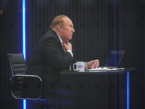 Andrew Neil, who has stepped down as chairman of GB News, has spoken with the BBC (Yui Mok/PA)