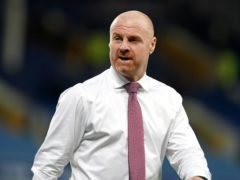 Sean Dyche has committed to spending another four years at Burnley (Martin Rickett/PA)
