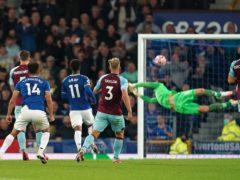 Andros Townsend scored a stunning goal against Burnley (Martin Rickett/PA)