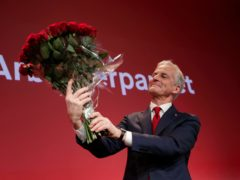 Labour leader Jonas Gahr Stoere (NTB/AP)