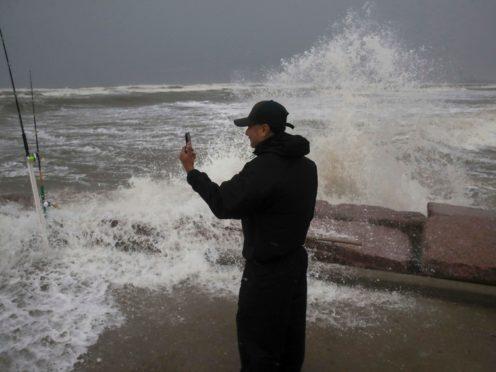 Tropical Storm Nicholas hits the Texas coast (AP)