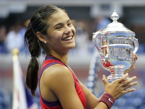 Emma Raducanu has said she 'can't get a tennis court' due to the buzz around the sport (ZUMA/PA)