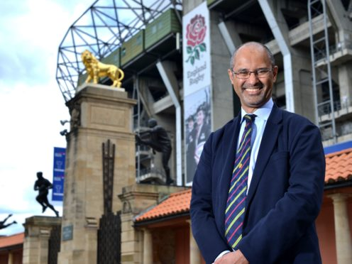 RFU chair Tom Ilube has revealed the ambition to bid for the 2031 World Cup (PA)