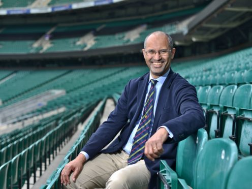 The RFU's Tom Ilube is the first black chair of any sports governing body in the UK (RFU handout/PA)