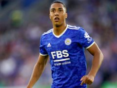 Youri Tielemans remains in contract talks with Leicester (David Davies/PA)