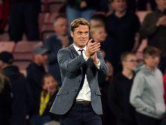 Bournemouth manager Scott Parker (Andrew Matthews/PA)