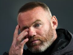 Derby manager Wayne Rooney (Nick Potts/PA)