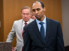 Mohamed Noor was sentenced to 12-and-a-half-years (Leila Navidi/Star Tribune via AP)