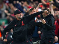 Liverpool manager Jurgen Klopp admits his side 'lost the plot' for a short time in the Champions League victory over AC Milan (Peter Byrne/PA)