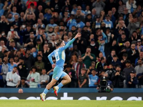 Jack Grealish impressed on his Champions League debut (Zac Goodwin/PA)