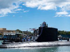 (Mass Communication Specialist 1st Class Michael B. Zingaro/U.S. Navy via AP)