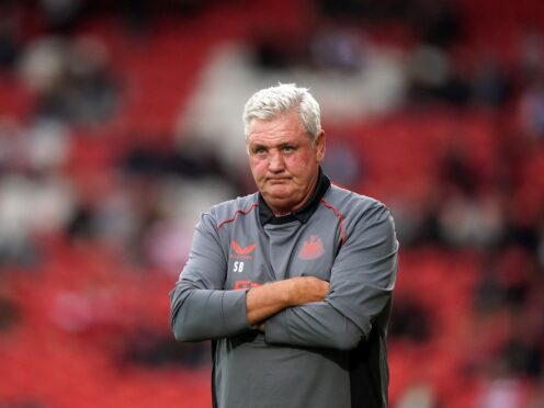 Steve Bruce was left to lament missed chances after Ismaila Sarr's equaliser denied Newcastle their first win of the Premier League season with a 1-1 draw at Watford (Tim Goode/PA)