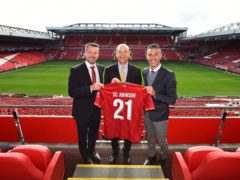Luis Garcia, right, was speaking at the launch of a new global partnership between SC Johnson and Liverpool (Andrew Powell/PA)
