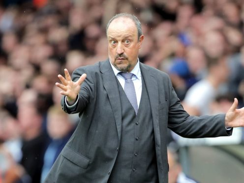 Rafael Benitez says Everton still have work to do (Richard Sellers/PA)