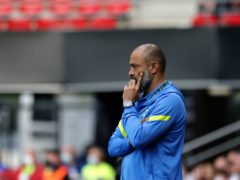 Nuno Espirito Santo was frustrated by more injuries in France (Jeremias Gonzalez/AP)