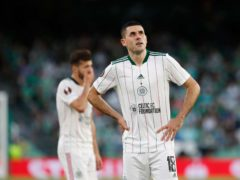 Celtic were beaten by Real Betis in the Europa League (Miguel Morenatti/PA)