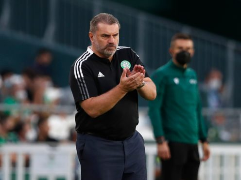 Ange Postecoglou's side scored three goals in Spain and ended up with nothing (Miguel Morenatti/AP)
