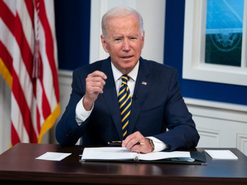 US president Joe Biden (AP)