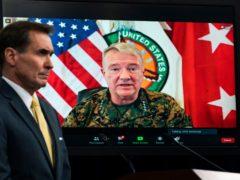 Gen Frank McKenzie, Commander of US Central Command (Manuel Balce Ceneta/AP)