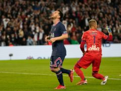 Lionel Messi is still searching for his first Paris St Germain goal (Francois Mori/AP).