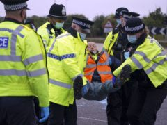 Environmental activists blocking the M25 now face 'possible imprisonment' (Steve Parsons/PA)