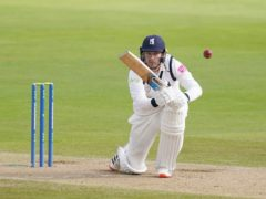 Danny Briggs starred with bat and ball for Warwickshire against Somerset (David Davies/PA)