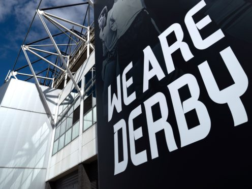 Derby have confirmed the appointment of administrators (Joe Giddens/PA Images).