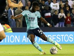 Kelechi Iheanacho scored Leicester's second goal at Millwall on Wednesday (Steven Paston/PA)
