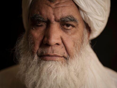 Taliban leader Mullah Nooruddin Turabi in Kabul, Afghanistan (Felipe Dana/AP)
