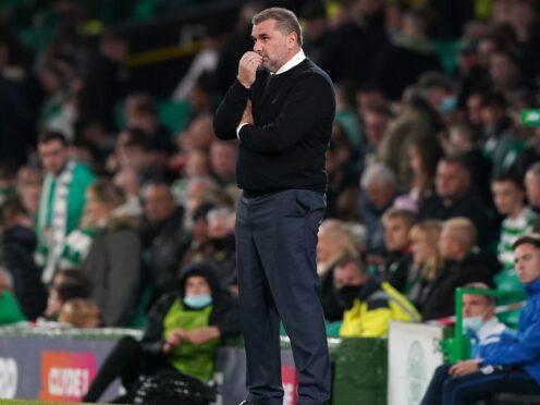 Celtic manager Ange Postecoglou has injury problems (Andrew Milligan/PA)