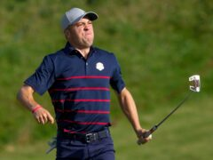 Justin Thomas got the party started (AP Photo/Charlie Neibergall)