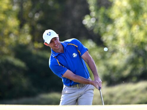 Rory McIlroy believes Europe can overturn their 6-2 deficit in the Ryder Cup (Anthony Behar/PA)