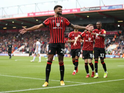 Bournemouth's Philip Billing put his side in front against Luton (Steven Paston/PA)
