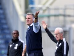Tony Mowbray and Mick McCarthy had differing thoughts post-match (Richard Sellers/PA)