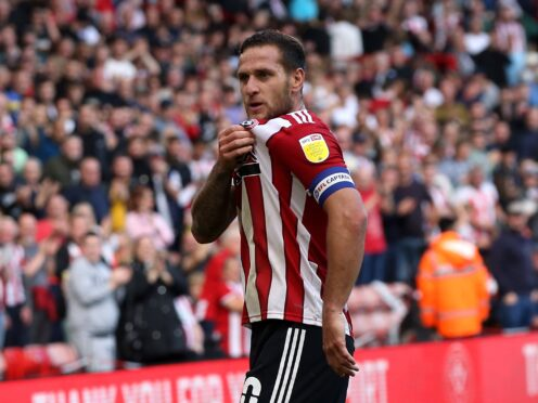 Billy Sharp held his nerve from 12 yards (Barrington Coombs/PA)